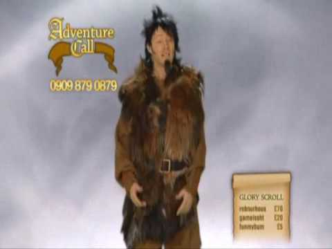 Limmy's Show - Adventure Call - A pissed off caller is gonna kill Falconhoof. - YouTube