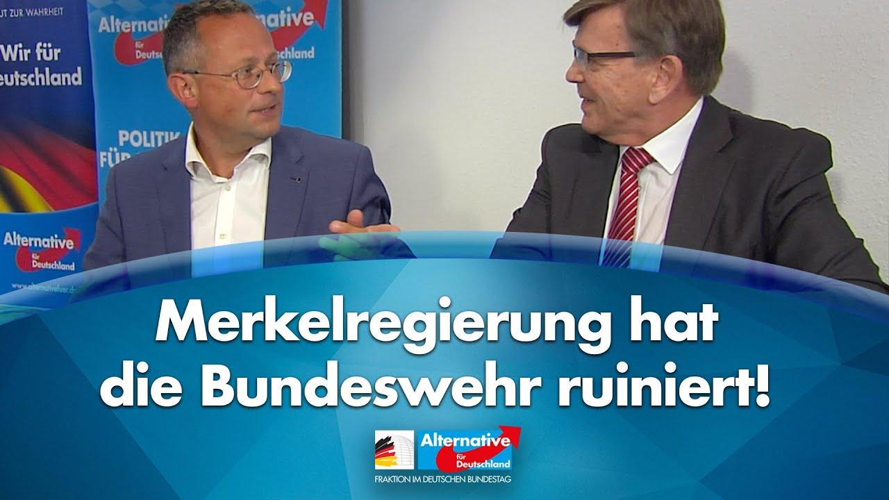 Merkelregierung hat die Bundeswehr ruiniert! - Peter Felser & Gerold Otten - AfD-Fraktion