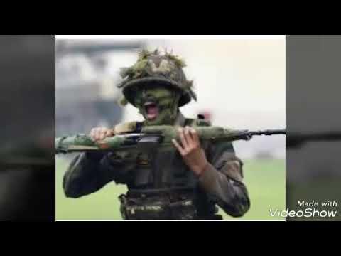 Sun dikhnadi baadli indian army best song 2018 😘😘
