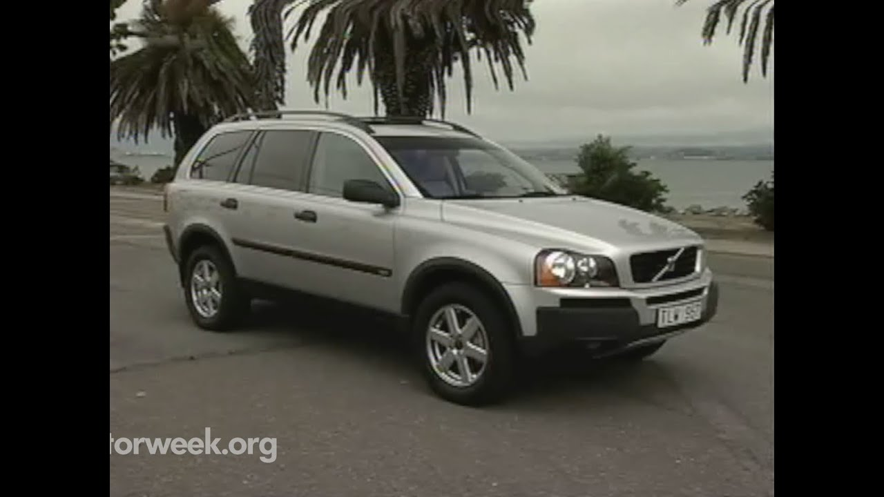 MotorWeek | Retro Review: '03 Volvo XC90 - YouTube