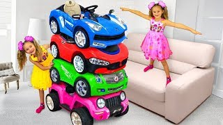 Funny stories about Sasha and Max Cars for Kids