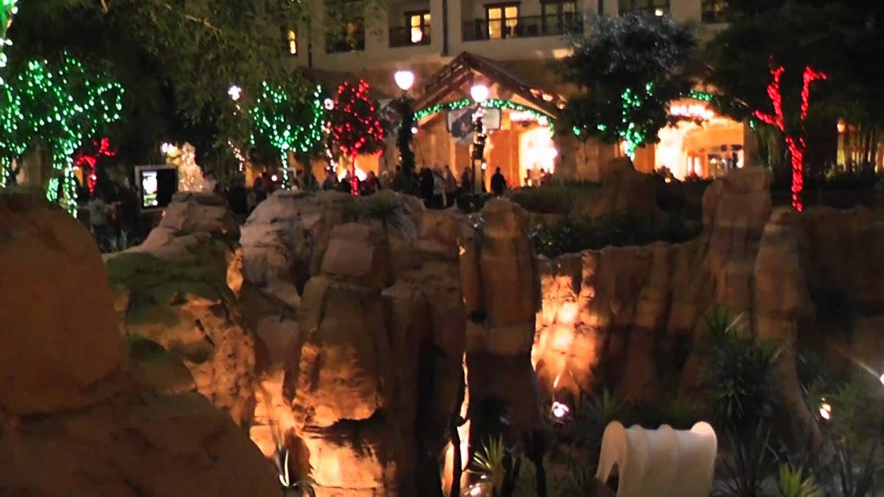 gaylord hotel grapevine texas christmas display - youtube