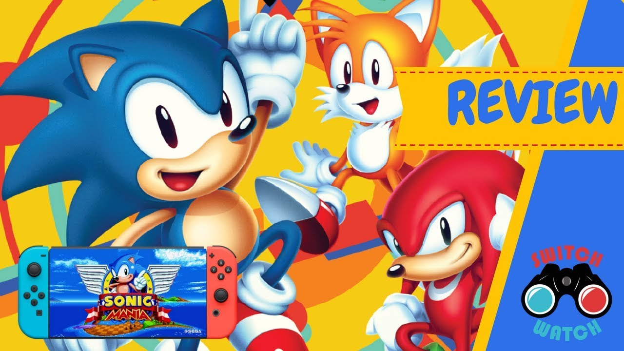 Sonic Mania Nintendo Switch Review Youtube