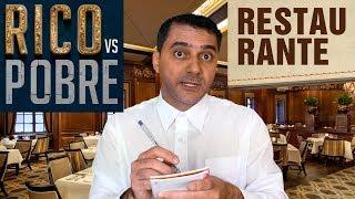 RICO vs POBRE - Restaurante