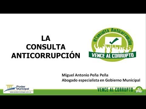 La consulta anticorrupción. Qué es y cuál es su alcance. Noticias falsas y mitos infundados