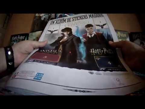 album panini stickers Harry Potter crimes de Grindelwald /& Les Animaux Fantastiq