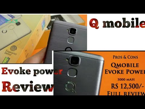 Q mobile Evoke Power Complete Review Urdu By Technology games media
