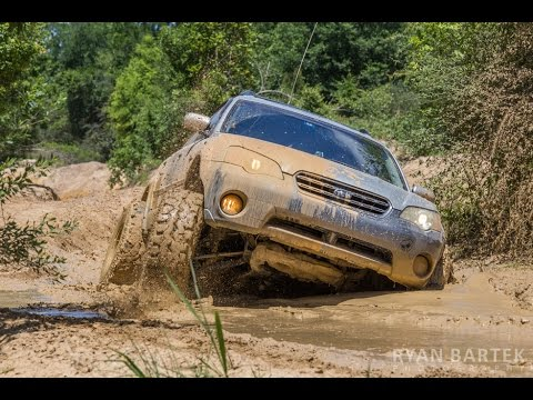 Subaru Outback Off Road >> Subaru Outback, Impreza and Forester Mudding in Creekside Off Road Ranch - YouTube