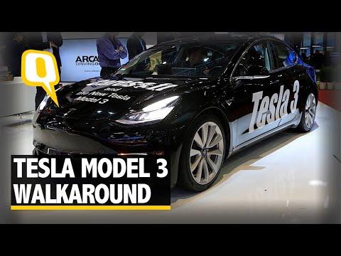 Tesla Model 3 Walkaround at Geneva Motor Show 2018