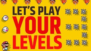 Super Mario Maker - Submit your Levels Now!