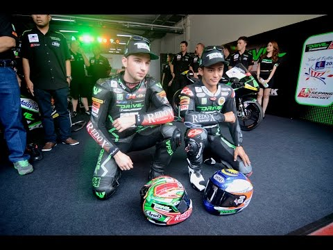 SIC Racing Team: Zulfahmi Khairuddin & Jakub Kornfeil Demo Ride