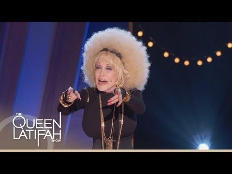 Dolly Parton Raps for Queen Latifah