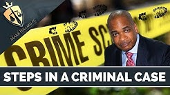 Criminal Defense Attorney: The Steps in a Criminal Case in New York?