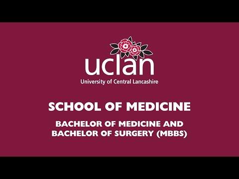Study Medicine at The University of Central Lancashire (UCLan)