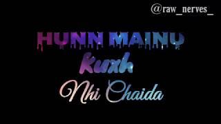Nai Chaida - Lisa Mishra | Latest Punjabi Song | Whatsapp Status Song | Love Whatsapp Status Song
