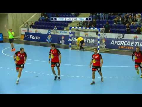 Andebol: FC Porto-Granollers, 23-22 (Taça EHF, grupo B, 3.ª jor., 04/03/17)