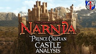 Is the CASTLE from NARNIA's Prince Caspian realistic?