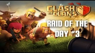 (500,000 Resources) Clash Of Clans - Raid of the day #3 (Town hall lvl 6)