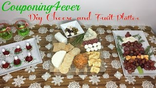 DIY CHRISTMAS CHEESE AND FRUIT PLATTER | ALDI