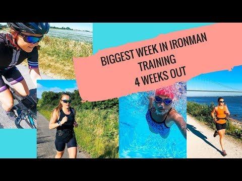 BIGGEST WEEK OF IRONMAN TRAINING | 4 WEEKS TO GO