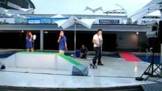 ドッグフェスタ豊洲のワンちゃんファッションショーのうち、2008年8月24...