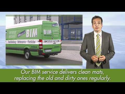BIM Textile Rental Service -- Mat Service