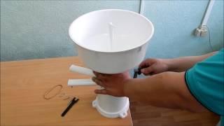 Сепаратор для молока ручной (Видео обзор)
