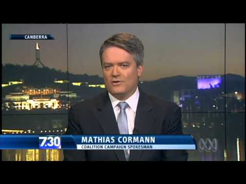 Penny Wong and Mathias Cormann debate election issues
