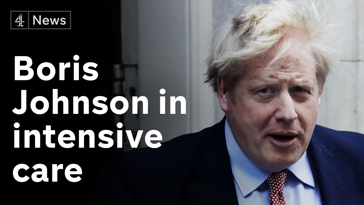 Boris Johnson moved to intensive care after coronavirus symptoms worsen