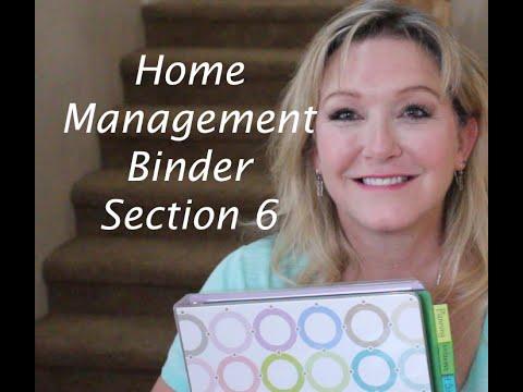Home management binder vacation planning youtube for Home planning binder