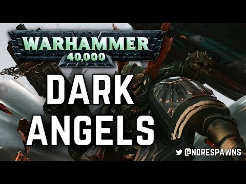 Warhammer 40k Lore: The History of the Dark Angels