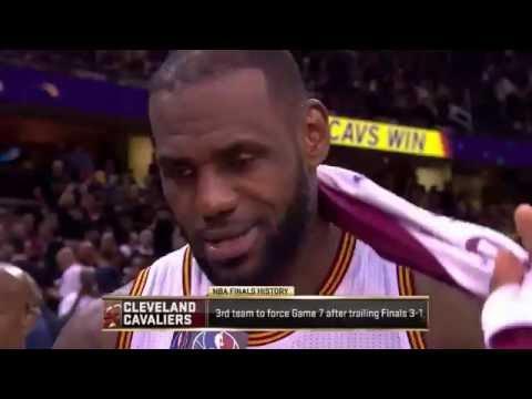 LeBron James: Postgame Interview 2016 NBA Finals Game 6 | Cleveland Cavaliers vs Warriors