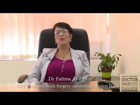 Dr. Fatima Al Zahraa - Consultant - ENT Surgeon