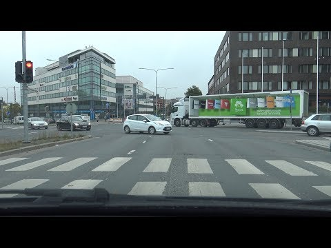 4K | Driving in Tampere, Finland