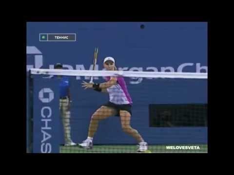11 September 2004 Svetlana Kuznetsova wins her first Grand Slam title