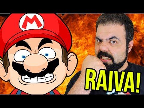 BIGODUDO DESGRAÇADO FAZENDO RAIVA! – Super Mario Maker (SUPER EXPERT)