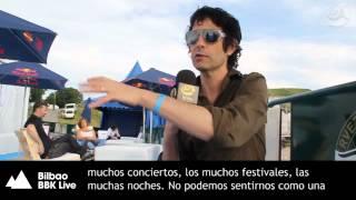 The Jon Spencer Blues Explosion - Bilbao BBK Live 2012 - Entrevista