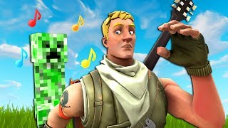 "Fortnite Community Sings ""Revenge"" (Creeper? AW MAN...)"