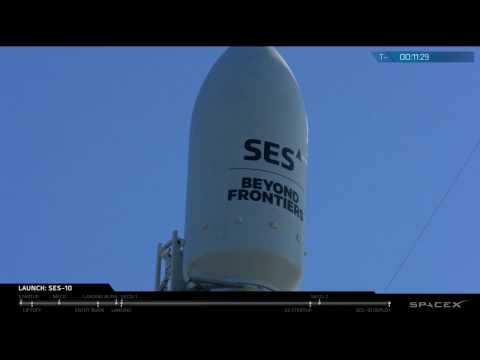 World's First Reflight of an Orbital Class Rocket | SES-10 Technical Webcast