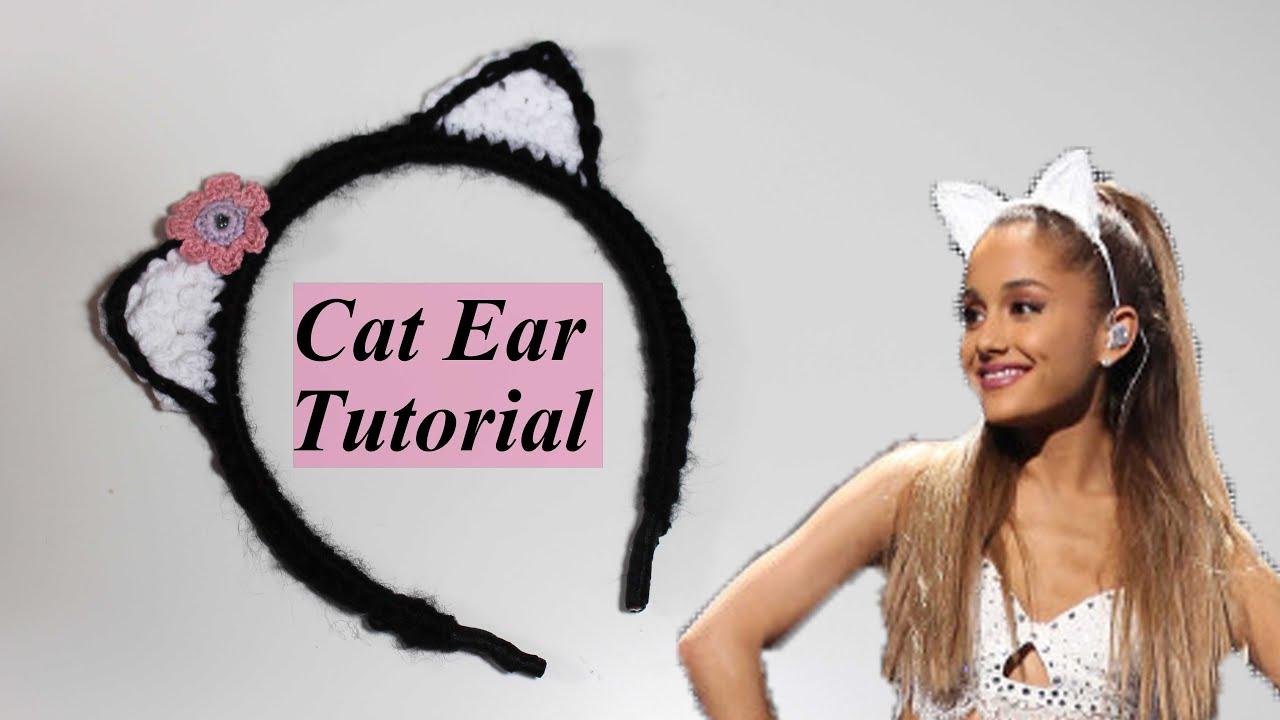 61+ Ideas crochet cat ears headband halloween costumes | 720x1280