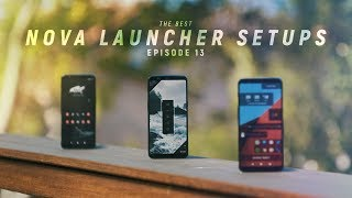 The Best Nova Launcher Setups #13