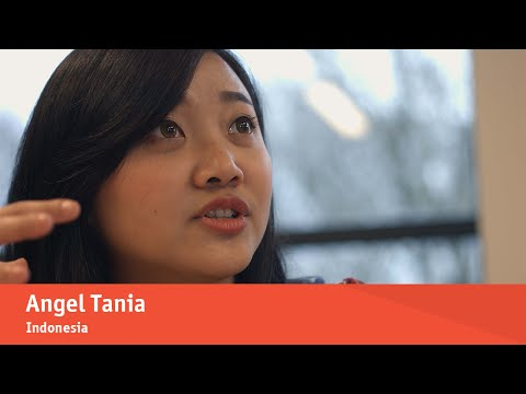 Studying at Arnhem Business School: Angel's story