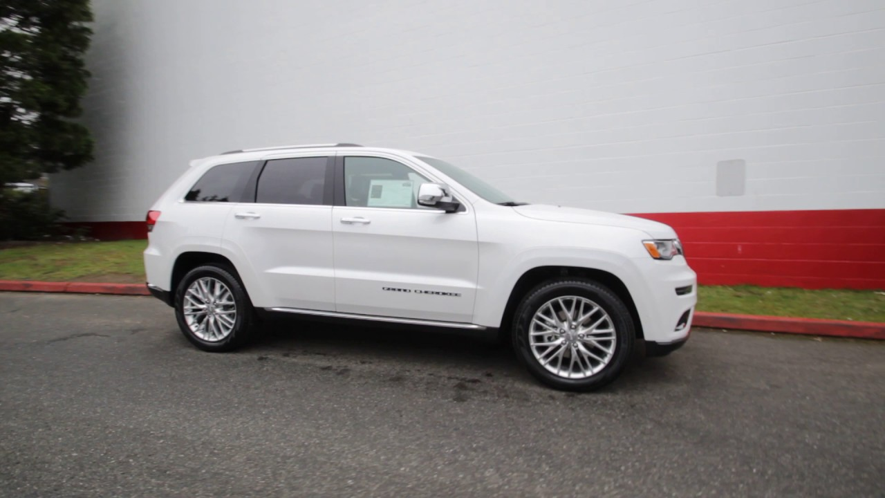 2017 Jeep Grand Cherokee Summit 4x4 | Ivory 3-Coat ...