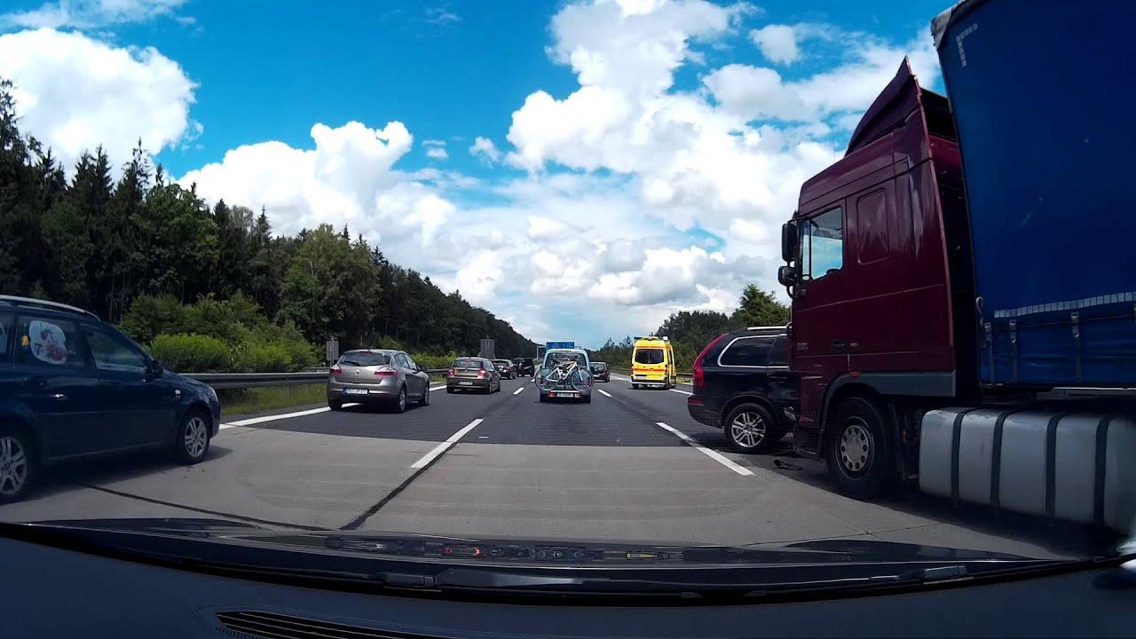 Autobahn A4 Unfall Heute