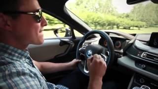 Тест драйв BMW i8.