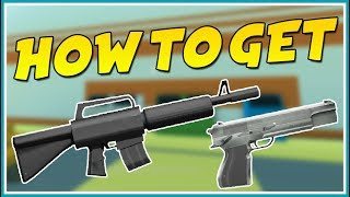 ROBLOX JAILBREAK HOW TO GET GUNS WITHOUT A KEYCARD, HELICOPTER...! [GLITCH]