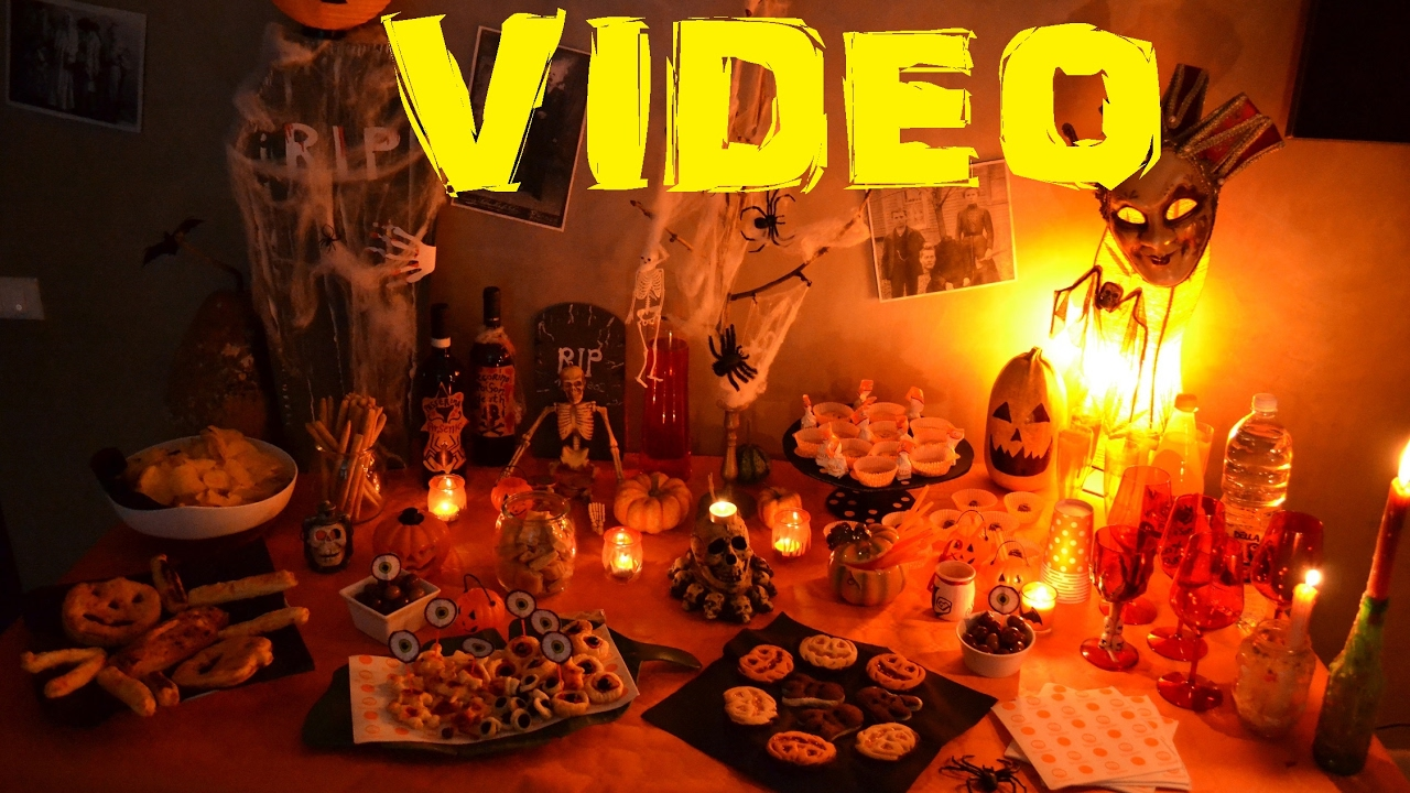 Addobbi Tavola Per Halloween tavola halloween - idee per apparecchiare una tavola in modo spettrale!