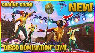 "*NEW* ""DISCO DOMINATION"" LTM COMING SOON TO FORTNITE! 