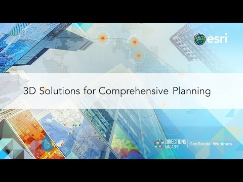 3D Solutions for Comprehensive Planning