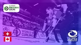 Switzerland v Canada - Semi-final - Pioneer Hi-Bred World Men's Curling Championship 2019